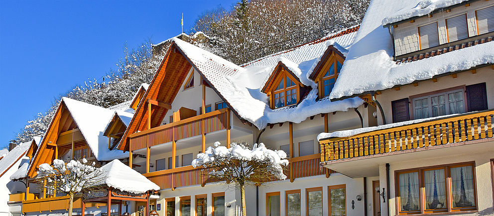 Hotel zum Walkenstein im Winter